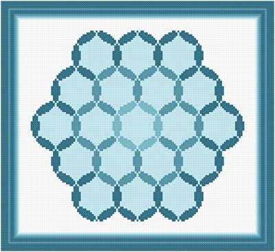 Deepening pools cross stitch pattern arts for Thread pool design pattern