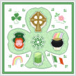 new cross stitch pattern - Irish Maze