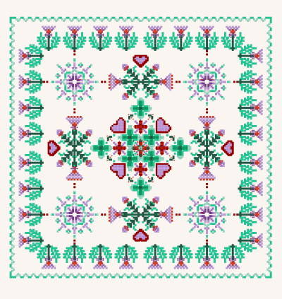 Site Map - Celtic Cross Stitch - Designs - Patterns - Instructions