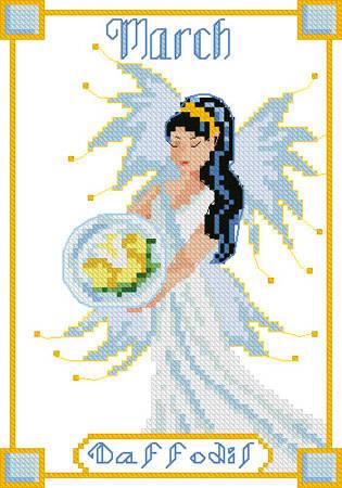Fairy cross stitch patterns & kits