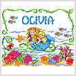 cross stitch pattern Once Upon a Mermaid