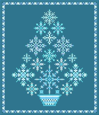 Download Cross Stitch Snowflake Patterns Software: Stitch Creator