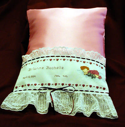 Baby size pillow cases. |  www.battenburglace.com