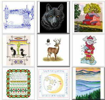 Popular cross stitch patterns